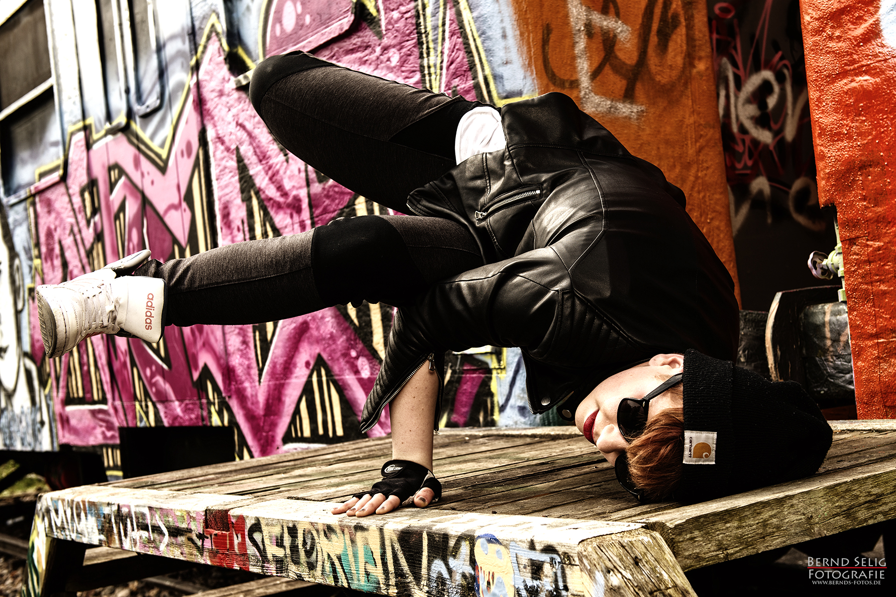 Outdoor HipHop Streetdance Shooting