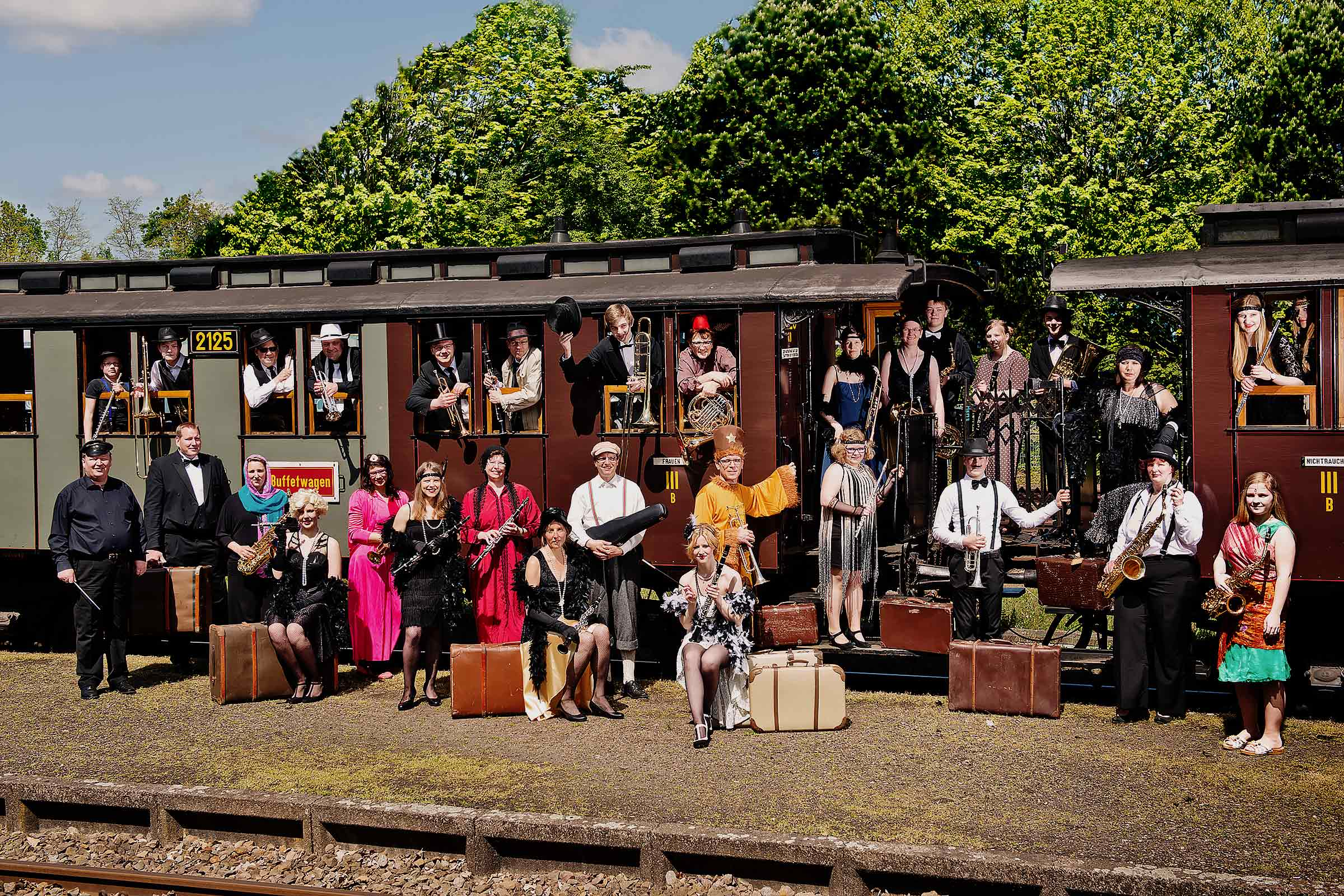 Gruppenshooting Orientexpress